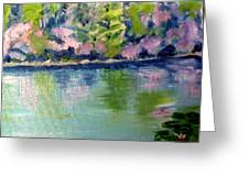 Pond 3 Greeting Card