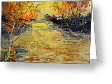 Pond  556180 Greeting Card