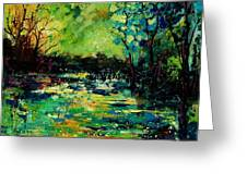 Pond 560120 Greeting Card
