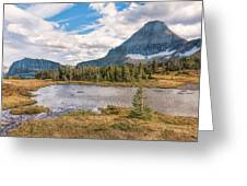 Pond At Nine Thousand Feet Greeting Card
