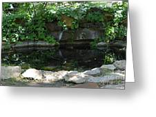 Pond At Twu 2 Greeting Card