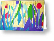 Pond Life Greeting Card