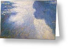 Pond Monet Greeting Card