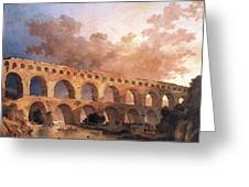 Pont Du Gard Greeting Card