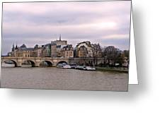 Pont Neuf In Paris Greeting Card