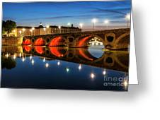 Pont Neuf In Toulouse Greeting Card