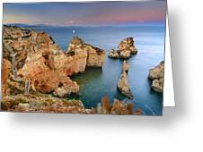 Ponta Da Piedade Stairs Greeting Card