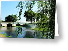 Ponte De Alpiarca Greeting Card
