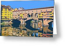 Ponte Vecchio Florence Greeting Card
