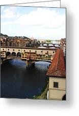 Ponte Vechio Florence Greeting Card