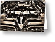 Pontiac Gto 028 Greeting Card
