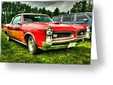 Pontiac Gto 029 Greeting Card