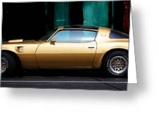 Pontiac Trans Am Greeting Card