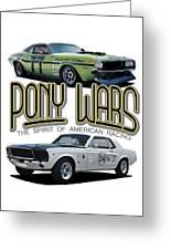 Pony War Classics Greeting Card