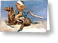 Pony War Dance Greeting Card