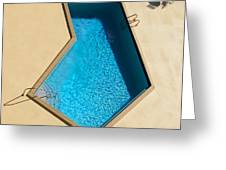 Pool Modern Greeting Card