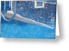 Poolhouse Greeting Card