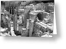Pools Of Bethesda Greeting Card
