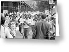 Poor Peoples March, 1968 Greeting Card