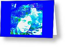 Pop Art Billy Joel Greeting Card