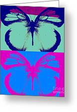 Pop Art Morphosis Greeting Card