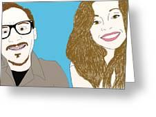 Pop Art Pals Greeting Card