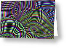 Pop Swirls Greeting Card