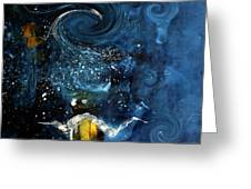 Pop The Champagne Top By Lisa Kaiser Greeting Card