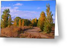 Poplar Lane Greeting Card