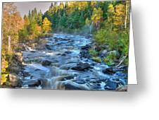 Poplar River  Greeting Card