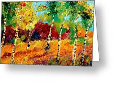 Poplars '459070 Greeting Card
