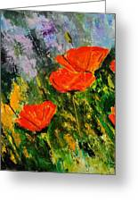 Poppies 107 Greeting Card
