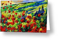 Poppies 78 Greeting Card