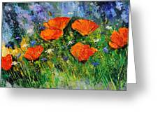 Poppies 79 Greeting Card