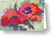 Poppies IIi Greeting Card