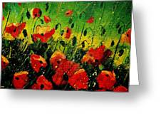 Poppies Poppies  Greeting Card