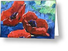 Poppies Splender Greeting Card