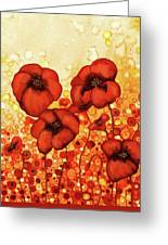 Poppin Poppies #2 Greeting Card