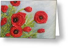 Poppin Poppies Greeting Card
