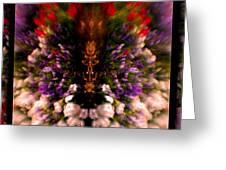 Popping Flowers Greeting Card