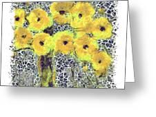 Poppy Bouquet I Pf Greeting Card