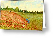 Poppy Hill Greeting Card
