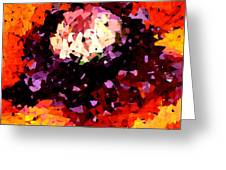 Poppy Mosaic Greeting Card