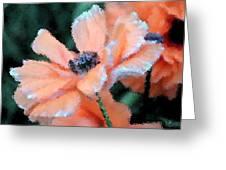 Poppy Primadonna Greeting Card