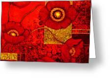 Poppy Treasures II Greeting Card