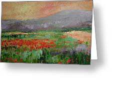 Poppyfield Greeting Card