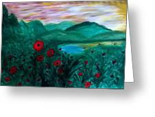 Poppys Greeting Card