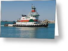 Popular Sight At Port Canaveral On Florida Greeting Card