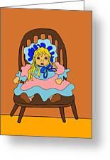Porceline Doll Greeting Card