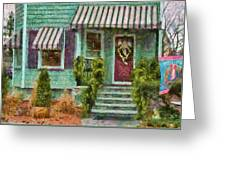 Porch - Westfield Nj - Welcome Friends Greeting Card